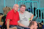 Maik (Fotograf und moralische Unterstützung) und Harald Engermann (Trainer)