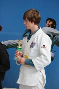 Jan erhielt den Pokal des besten Technikers in der u15