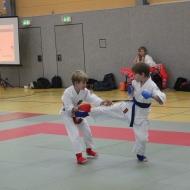 Jannek (rot) und Theo (blau)
